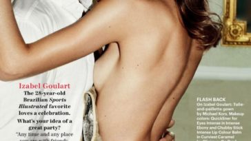 Collection of the Hottest Nude Izabel Goulart Pictures 37