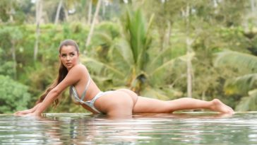 Voluptuous Brunette Demi Rose Shows Everything for Everyone 17
