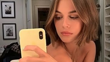 Kaia Gerber Nude LEAKED Pics, Topless on the Runway & Porn 389
